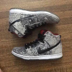 buy popular 0671f c77af Nike Shoes - NIKE DUNK HIGH PREMIUM SB